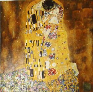 The Kiss Gustav Klimt Austrian