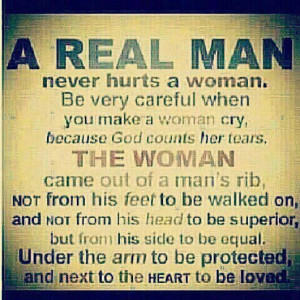 Any real men out there?