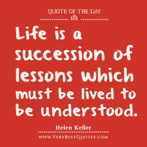 ... . Helen Keller quotes,Life quotes of the day, Quote Of The Day