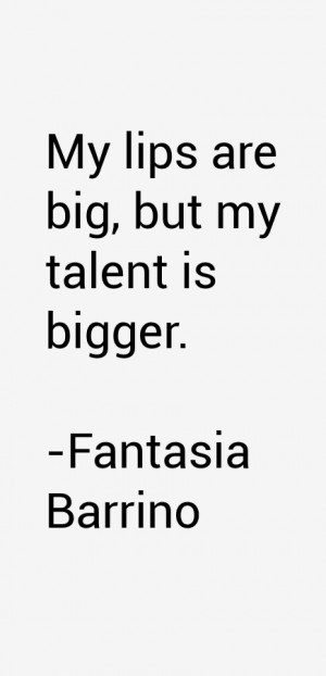 Fantasia Barrino Quotes amp Sayings