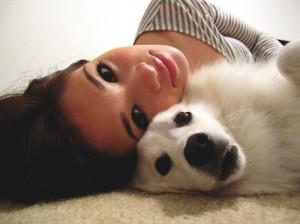 cute, dog, girl, nicole anderson, photo