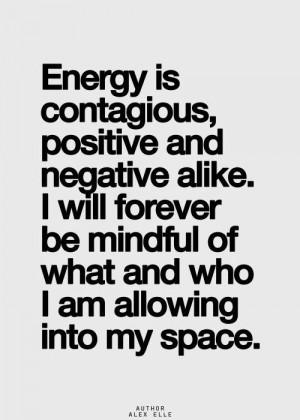 Let the Positive Energy Flow