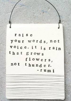 Jalal ad din rumi quotes and cute sayings raise your words