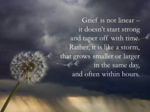 to grieve is to endure