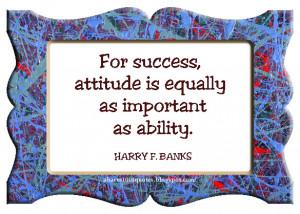 Positive Attitude Causes
