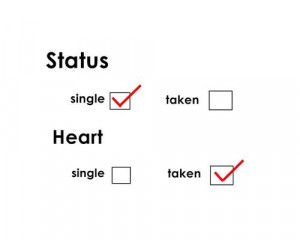 Most popular tags for this image include: heart, love, single, status ...