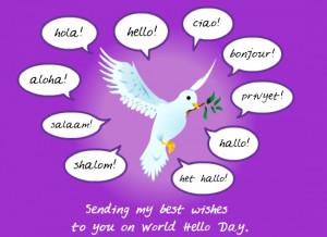 Say Hello, Spread Peace