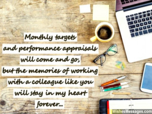 Goodbye Quotes For Co Workers