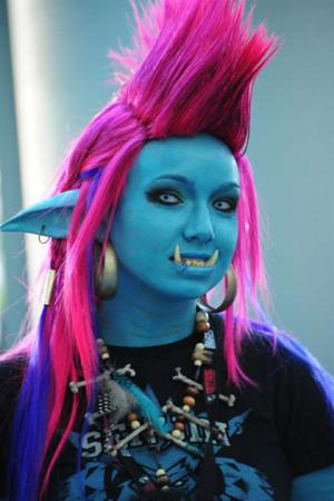 cosplay female World warcraft of