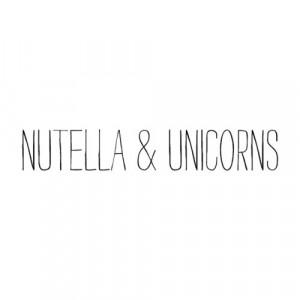 nutella, quotes, unicorns