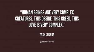 Complex Human Quotes