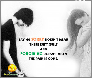 Sorry Quotes and Sorry Sayings