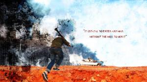M1A1 ABRAMS TANK weapon military tanks anarchy battle war poster text ...