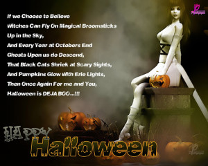 Happy Halloween Poems and Quotes for Kids with Wishes Wallpapers