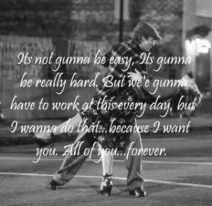 love quote and the notebook