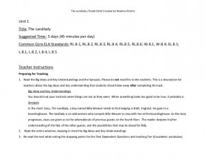 landlady. lesson (1)