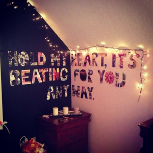 Hipster Bedroom Wall Quotes