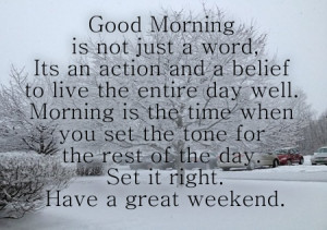 good morning-motivational-weekend-quotes