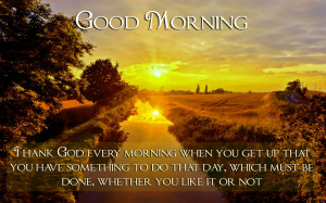 good morning hd wallpaper with sunrise quotes