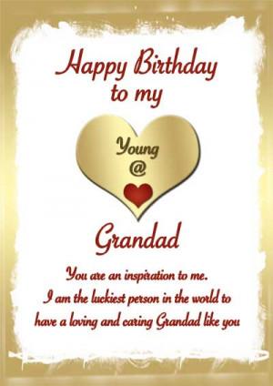 Grandfather Birthday Cards