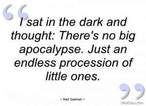 sat in the dark and thought neil gaiman