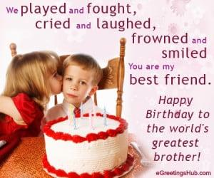 ... » Birthday » Brother & Sister Cards » Birthday Card for Brother