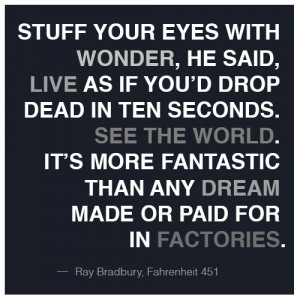 Quotes From Fahrenheit 451