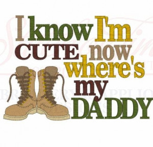 know I'm CUTE now where's my DADDY shirt by Birthdayshirtsanmore, $ ...