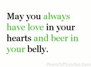 famous irish drinking quotes