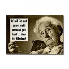 Crazy Grandma Fridge Magnet