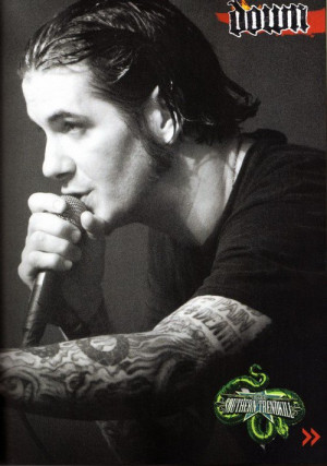 Phil Anselmo. ahhh this picture is amazing.♥ he's soo cute.