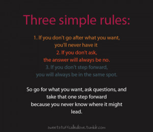 url=http://www.pics22.com/three-simple-rules-best-motivational-quote ...
