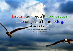 Inspirational quotes about dreams and life