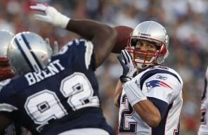 Tom Brady is a proven winner. Tony Romo is not.(Charles Krupa - AP)
