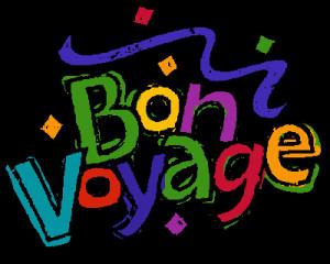 Bon Voyage Poster Free Printable Index
