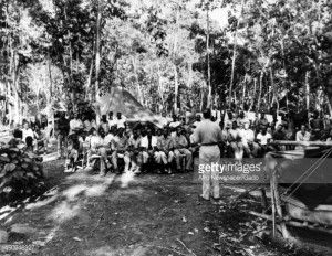 News Photo During World War 2 African American soldiers in
