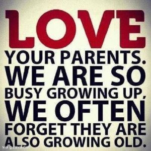 WhatsApp Blackberry Quotes, Love Your Parents