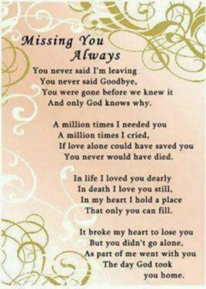 ... its been 27 yrs 2day, i ache 4 what we could of been, i miss u mom