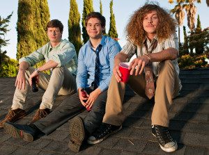 Anders Holm, Adam Devine and Blake Anderson of Comedy Central's new ...