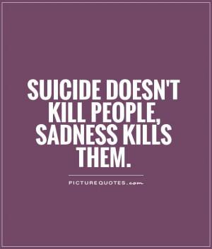 Suicide Quotes