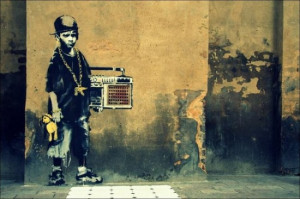 15 Awesome Banksy Graffiti Street Art and Quotes!