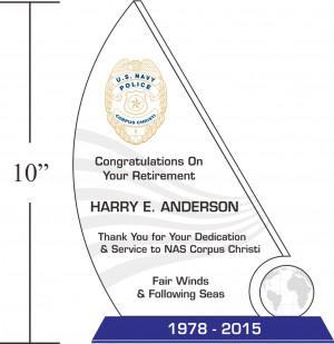 Sample Navy Retirement Quotes