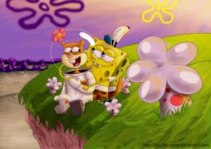 Spongebob Squarepants spongebob and sandy