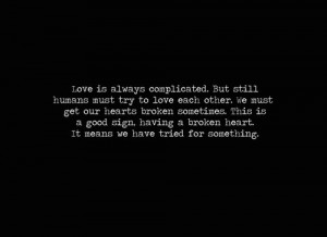 Complicated Love Quotes