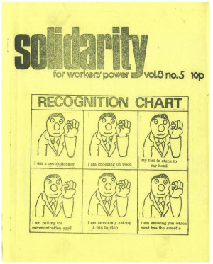 Solidarity for workers' power #3.08