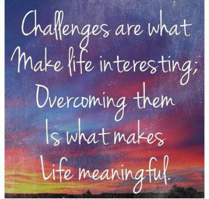 Daily motivation: Challenge accepted!
