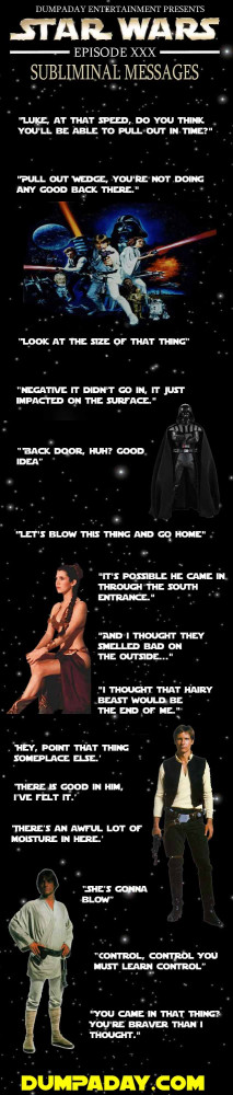 Simple Star Wars Quotes For The Dirty Minded