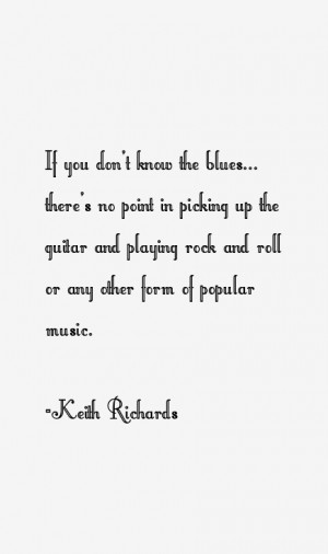 Keith Richards Quotes & Sayings