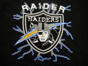 san diego chargers raider hater Image