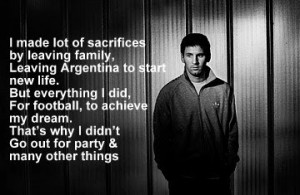 10 Quotes By Lionel Messi